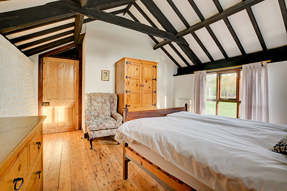 Photo of Pilgrims Chase bedroom 1, view 2
