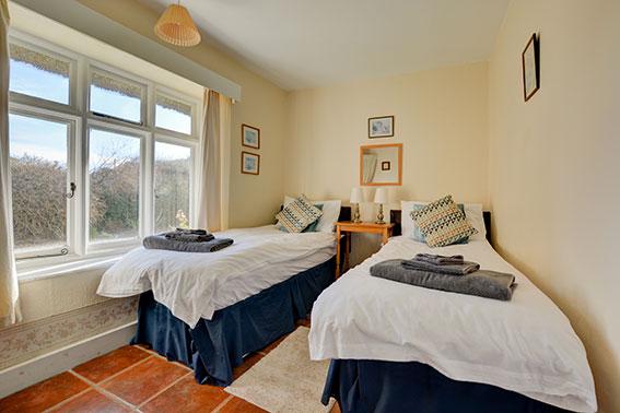 Photo of Pilgrims Cottage bedroom 2, view 1