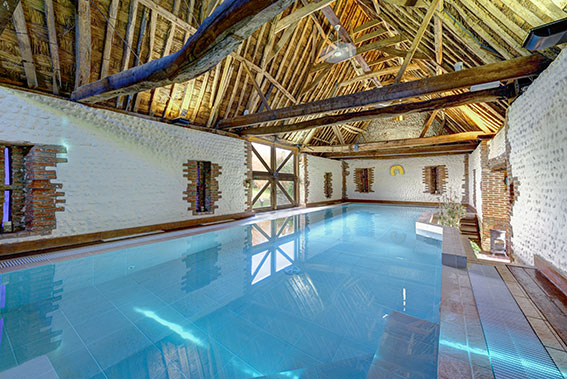 Photo of Pilgrims Cottages pool, view 2