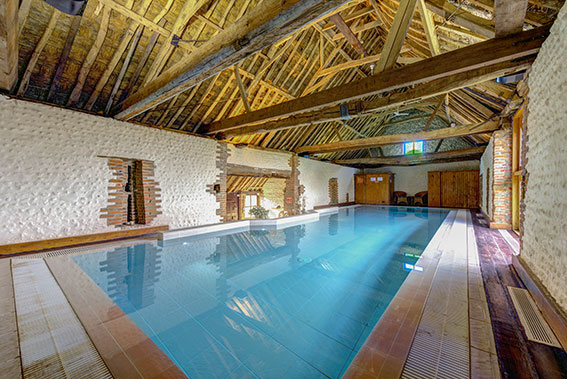Photo of Pilgrims Cottages pool, view 4