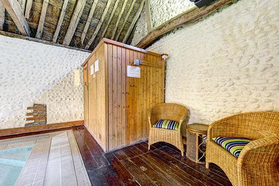 Photo of Pilgrims Cottages sauna, view 1