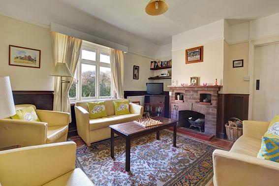 Photo of Pilgrims Cottage sitting room