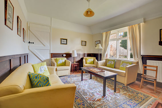 Photo of Pilgrims Cottage sitting room, view 2