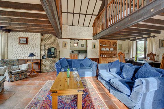 Pilgrims Prospect - sitting room